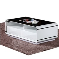 New Modern Toughened Glass Coffee Table (WLF-CT001)
