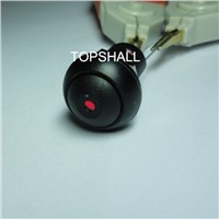 12MM plastic mantain push button lights switch
