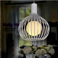 60w energy saving iron pendant light for indoor decorative made in China led replacable
