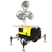 trailer lighting tower