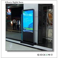 55 Inch Advertising Screen Panel with 3g/Wifi LCD Media Players