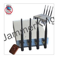 Powerful cellphone jammer CPJ101B-PRO-01 with 20W total output power