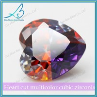 Multicolor high quality synthetic cubic ziconia /cz diamond