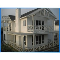 Waterproofing coating exterior fiber cement siding board for villa