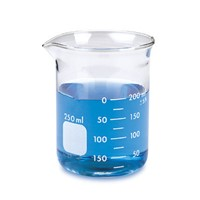 1101series Low Form Glass Beaker with Graduation and Spout (Low Form) Laboratory Glassware