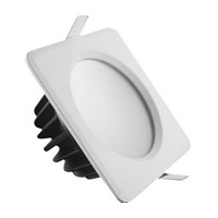 Waterproof LED Down Light Square COB Or SMD5730 Ceiling Lamp