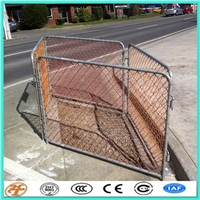 1.2M High Visibility Orange Construction Site Temporary Fencing For New Zealand
