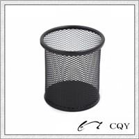 metal mesh pen holder