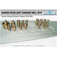 Glass Tools Diamond Copper Drill Bits