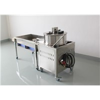 Gas heating popcorn making machine