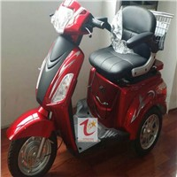 Three wheel electric scooter for disabled