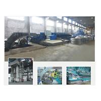 Aluminum/ copper rod continuous casting and rolling machine