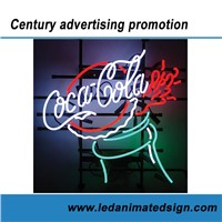 Coca Cola Advertising Neon Sign