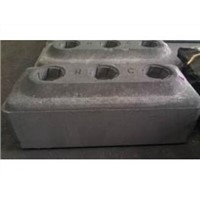 Cathode Vibrating Graphite Block/graphite Block anode carbon block