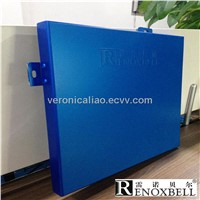 Pearlescent Dark Blue Decoration Aluminum Panel for Cladding