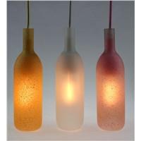 China supplier beautiful glass pendant light with edison bulb