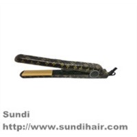 Professional salon PTC heater hair straightener