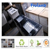 100% pure Acrylic stone solid surface and quartz stone counter vanity top