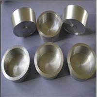 Polished tungsten crucible 99.95%