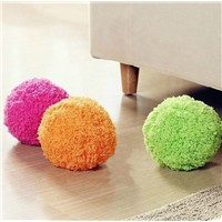 2015 newest design interestingPlush Automatic Cleaning pet Ball toy