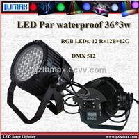 LED Par waterproof 36 pcs *3w LED Light/Stage Light Light