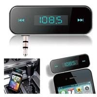 3.5mm Handfree FM Transmitter for mobile phones