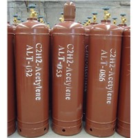40L dissolved acetylene cylinder