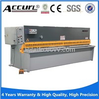 hydraulic swing beam shearing machine for steel sheet