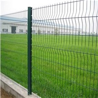 Triangle bended fence/ V fold wire mesh fence for sale