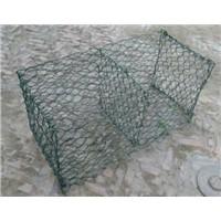 pure galvanized gabion cages with 10% zinc-Al alloy gabions for sale
