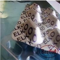 Pharmaceutical use and roll type alu alu foil pill blister packaging