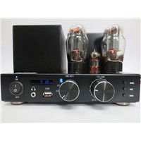 Vacuum Tube Amplifier with FM Radio and Bluetooth, CFA153B-S1-BR