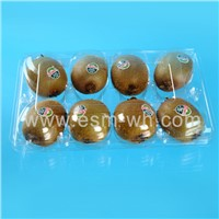 PET kiwifruit package,plastic transparent tray,blister packing