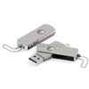 USB Flash Drive with Steel shell & Twist Cap