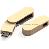 USB Flash Drive with Twist Wooden shell