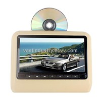 "9"" car headrest monitor with dvd/usb/sd/fm/ir/wireless game /remote control(HY-975D)"