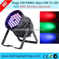 Cheap Price LED PAR64 120W Tri LED Stage Lighting Fixtures