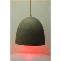European light E27 concrete pendant light with edison bulb