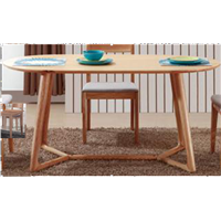Modern Dining Room Furniture Wooden Dingning Table (WLF-DT007)