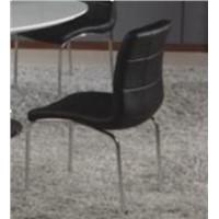 Modern Home Furniture PU Dining Chair (WLF-DC005)