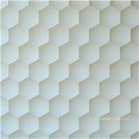 3d beige artistic sculptural stone panels