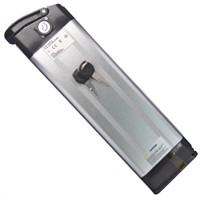24V 10Ah`15Ah`20Ah e bike battery pack silver fish type