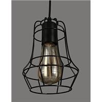 Ancient light E27 aluminum lampholder with edison bulb 40/60w