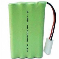 NI-HM 9.6V 700mAh AA Household Appliance Rechargeable Battery