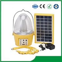 Solar Camping Lantern with 3.5W Solar Panel for Cheap Sale