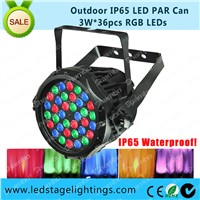 Outdoor LED Par light 36pcs*3W Christmas lighting,LED Garden light