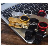 Universal 3 in 1 car kit  Fisheye Lens Wide Angle Macro Lens Camera Kit Set for Mobile Phone