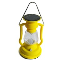 7pcs LED Solar Lamp Beautiful Retro Solar Lamp Hand Cranking Lamp