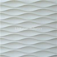 3D Beige Wavy Stone Feature Wall Art Panel