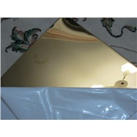 Mirror Titanium Stainless Steel Sheet 304